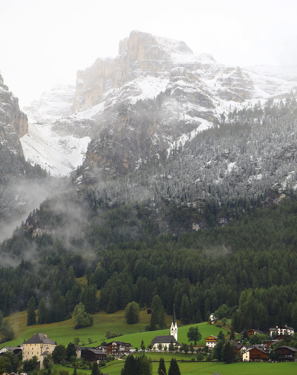 San Cassiano and the Dolomites