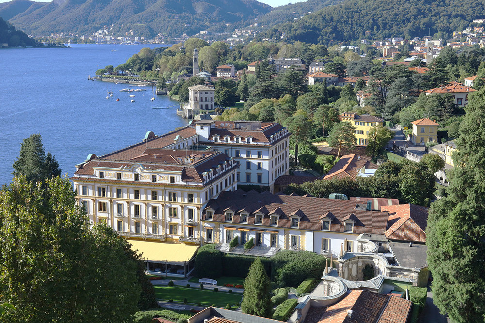 Villa d'Este and Lake Como