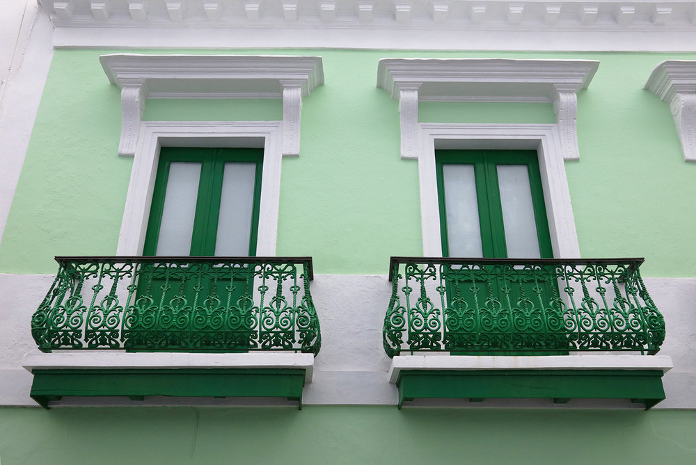 Windows of Old San Juan
