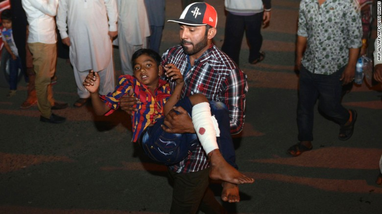 bombing in pakistan call of hope