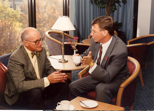 Prof John Balmer & Wally Olins