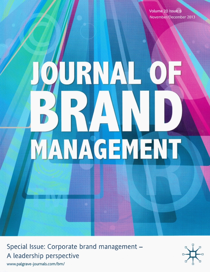 Journal of Brand Management (2013)