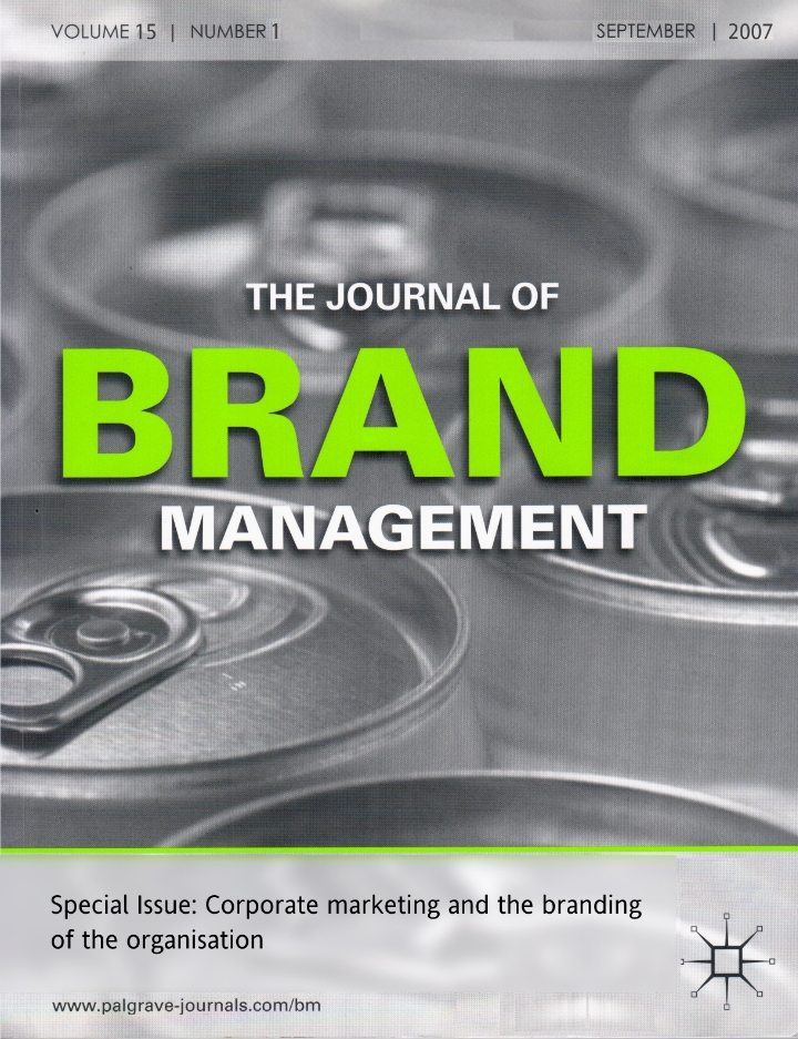 Journal of Brand Management (2007)
