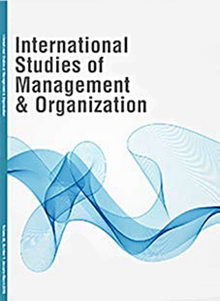 International Studies of Mgt & Org. (2016)
