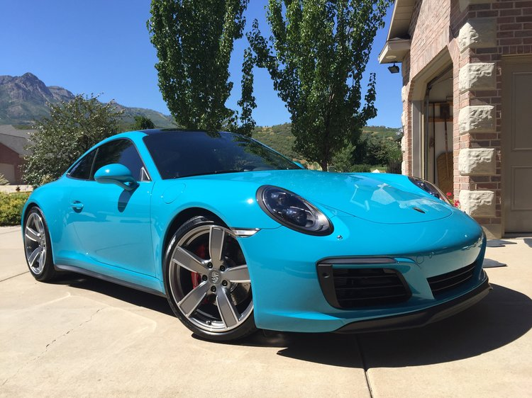 2017 Porsche 911s with a professionally installed Ceramic Coating