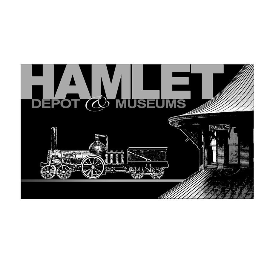"""""""Hamlet Depot & Museum"""" • Design (option A) Hamlet, N.C. © KT"""