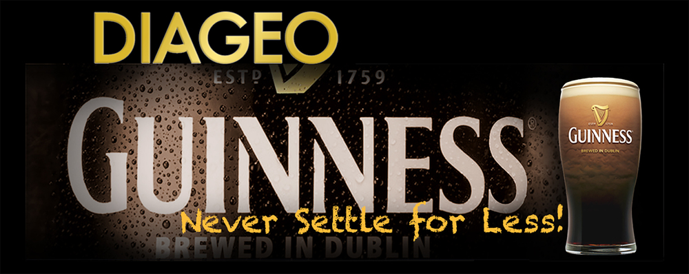 Diageo Beverage Company • Guinness design for a 14' by 48' digital billboard for downtown Atlanta, GA. © KT