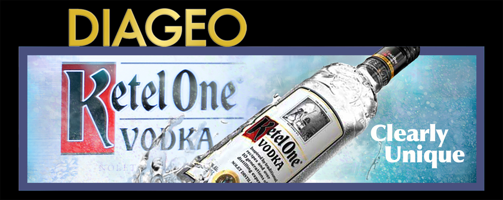 Diageo Beverage Company • Ketel One design for a 14' by 48' digital billboard for downtown Atlanta, GA. © KT