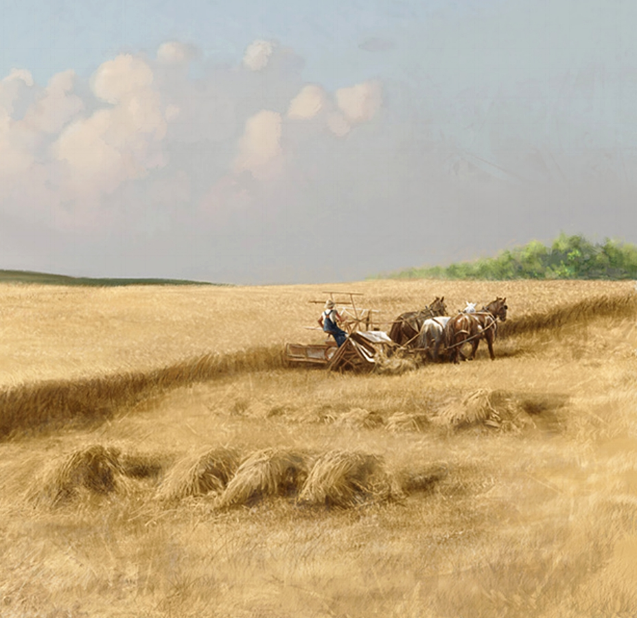 Bayer Museum of Agriculture • 52' w by 10' h • (right detail) Digitally rendered (Formally American Museum Of Agriculture) Lubbock, TX. © KT