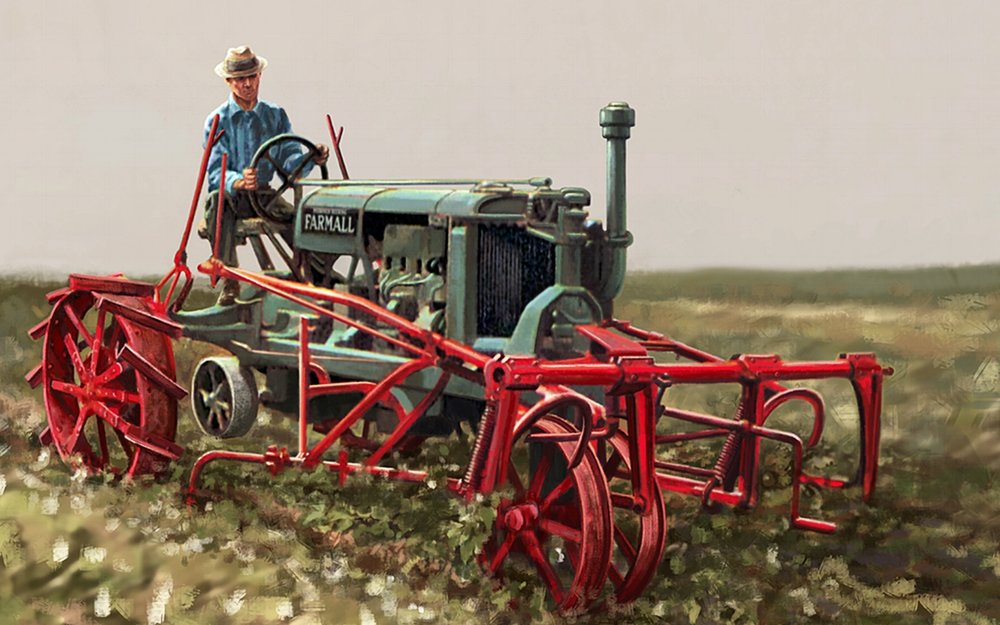 Bayer Museum of Agriculture • 52' w by 10' h • (Center detail) Digitally rendered (Formally American Museum Of Agriculture) Lubbock, TX. © KT