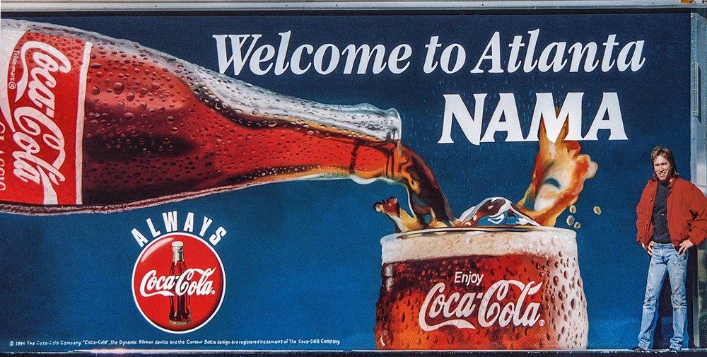 Coke - NAMA • Mobile Outdoor advertising