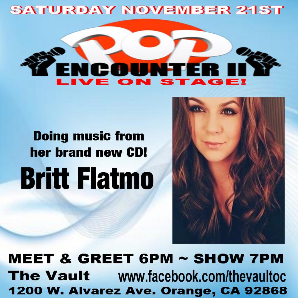 Britt_Flatmo_The_Vault_OC_Pop_Encounter_New_Music_Cd_Release