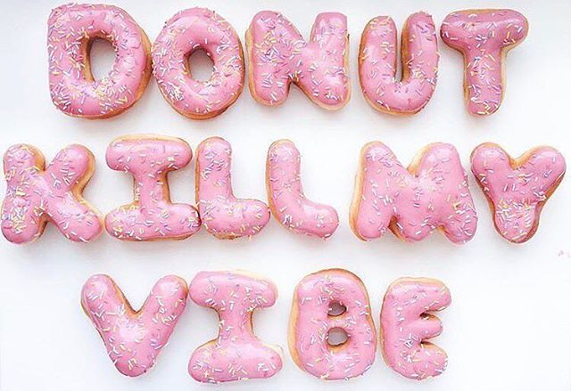 | Only my favorite day of the year. It's gonna go DOWN TONIGHT! Who got their donuts already? 🍩