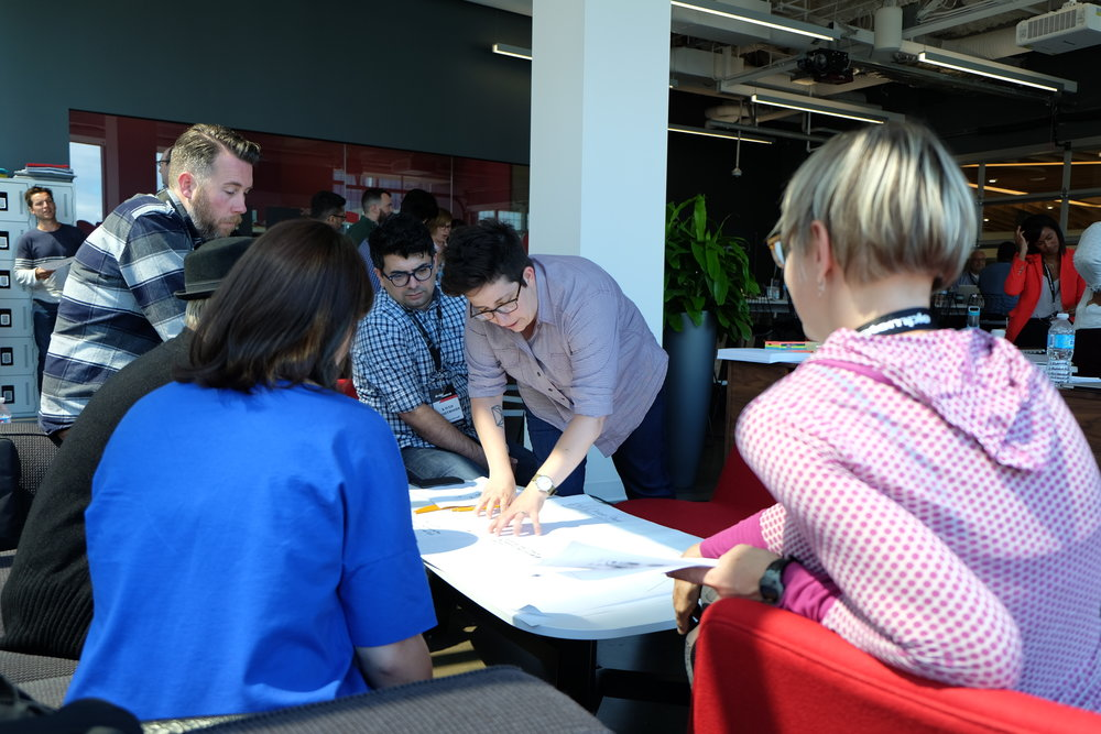 Storymapping workshop: Microsoft, Vancouver