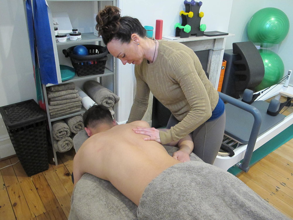 Massage and joint mobilisation