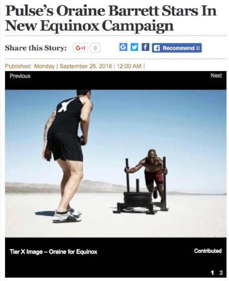 Pulse's Oraine Barrett Stars in New Equinox Campaign - Jamaica Gleaner