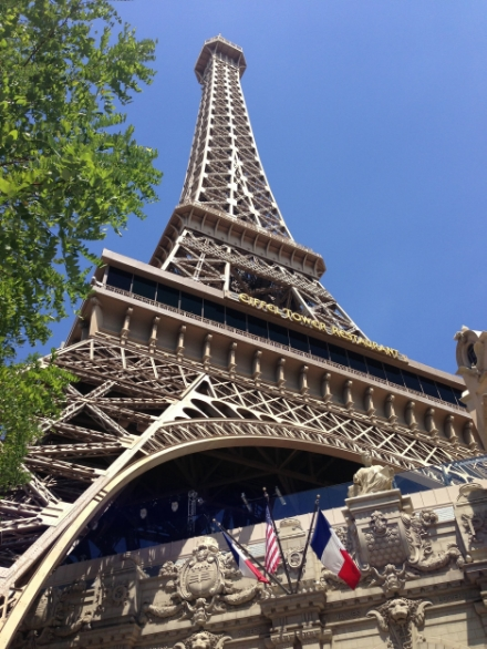 Paris (via Vegas): My home away from home, for the first part of the week.