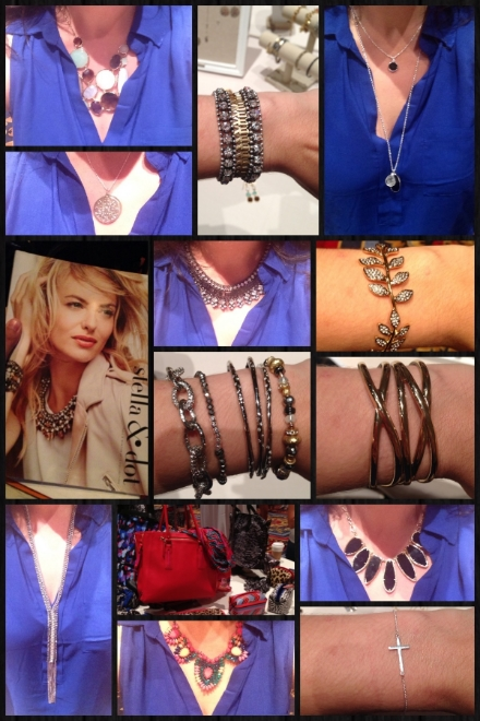 Pieces from the Stella & Dot Fall line.