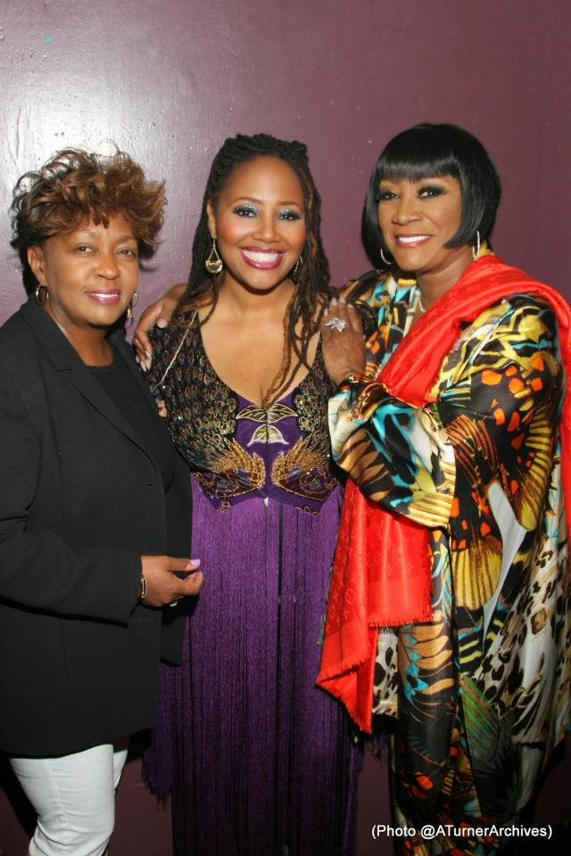 Anita Baker, Lalah Hathaway, and Patti LaBelle - Image courtesy of Rollingout.
