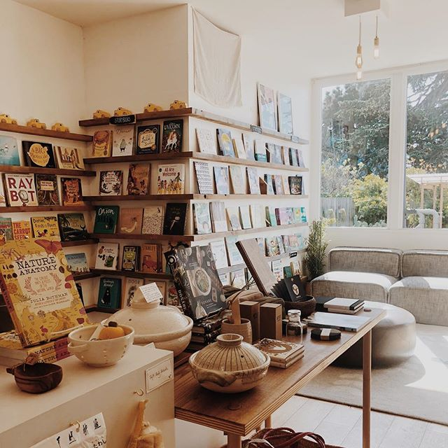 Our neighborhood bookshop @blackbirdbooksf has the best afternoon light and the sweetest back patio filled with succulents ✨🌵📚🌱