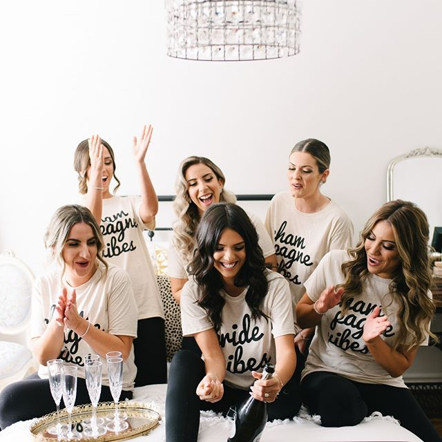 The hype team on point! 🍾 . . . #bridesmaids #torontobride #bride #dirtybootsandmessyhair #junebugweddings #brides #torontoweddingphotographer #torontoweddingphotography #torontowedding #bridesquad