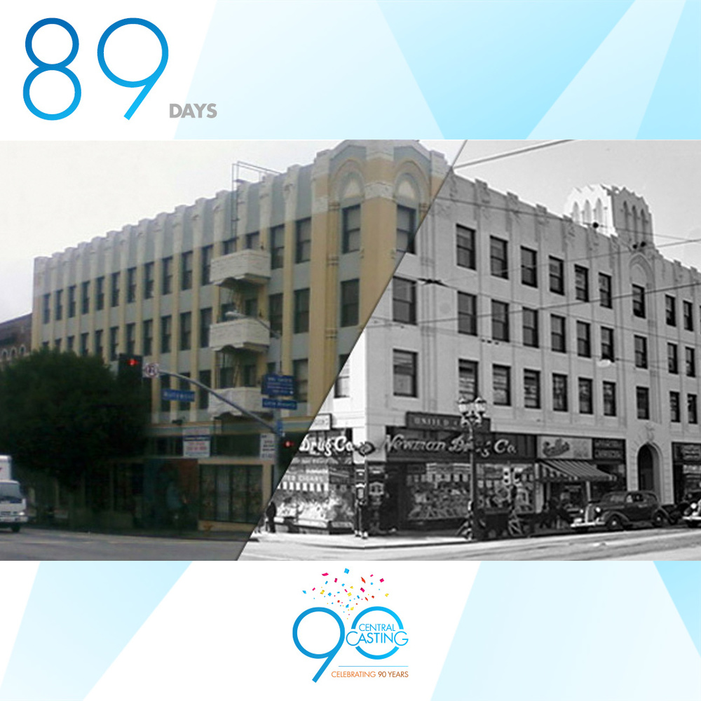 LEGACY - Now & Then     Our original location for the first 40 years. Hollywood Blvd & Western Ave in Hollywood