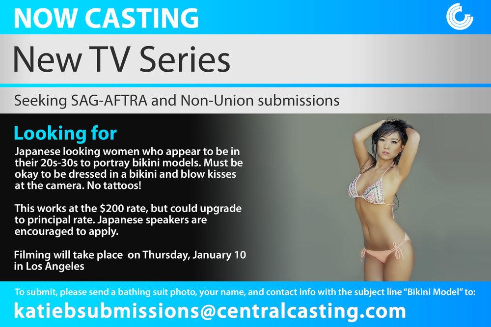 Los Angeles Looking For Women To Portray Japanese Bikini Models