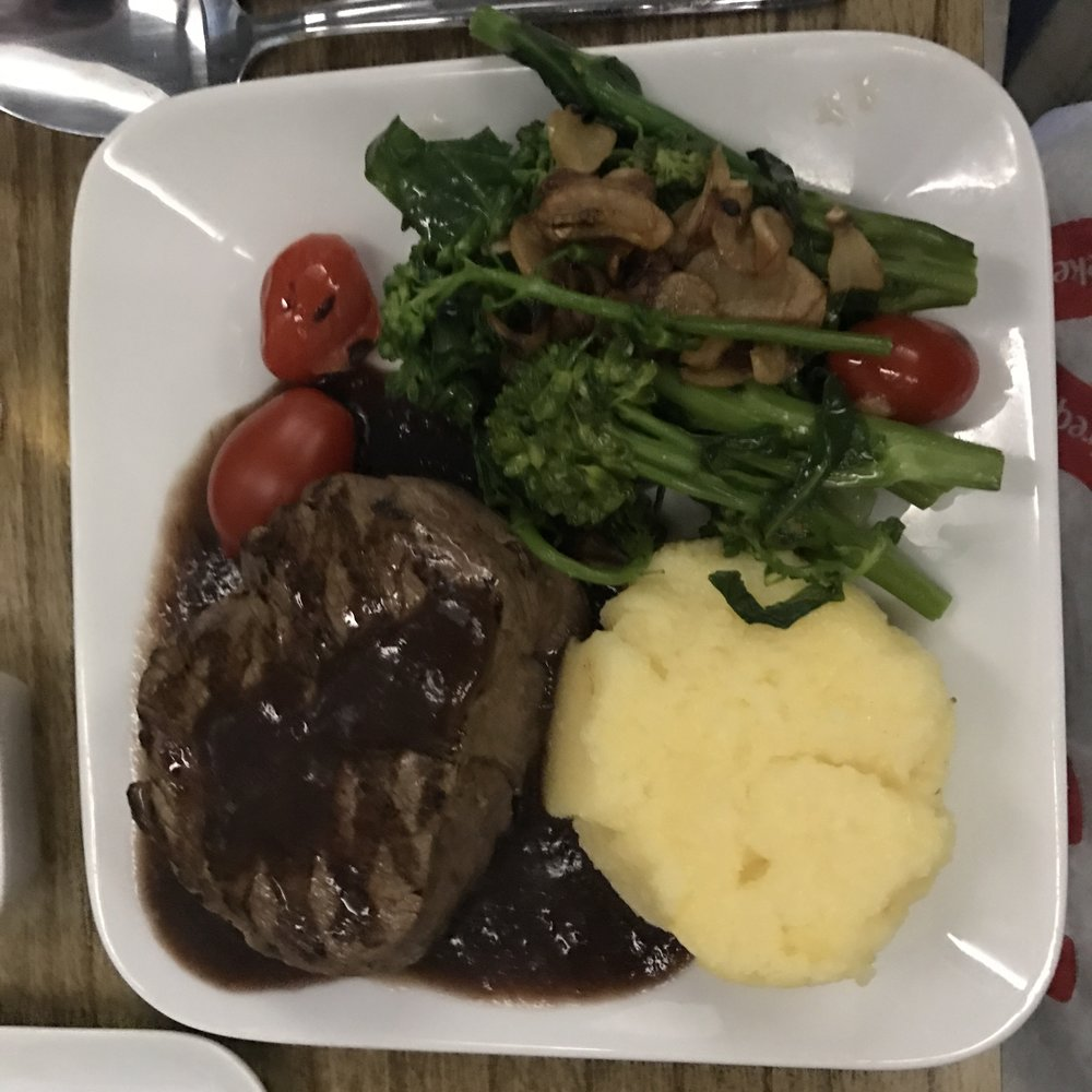 Meal served on Delta Business class (DeltaOne) - DO NOT expect to get something similar in Economy