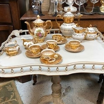 """""""Once again the showroom is filling up this week with unique finds & treasures! Come shop to see the pristine furnishings & a chance to win, $100 visa gift card when you shop both sales!"""""""