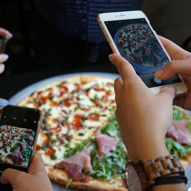 Our pizza and dishes are extremely Instagram worthy! Don't believe us! Come and try it for yourself 🍕 - Thank you @palateconnect for giving us a visit! #DoughBoysPizzaNYC #PalateConnect #NYCPizza