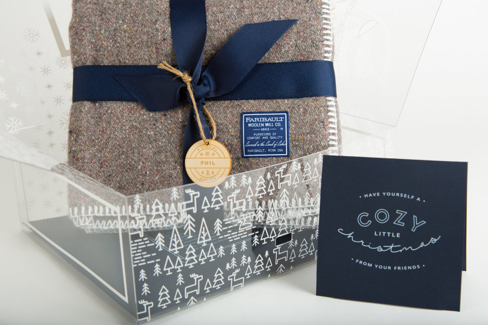 """The Bernard Group Holiday Gift 2016 """"Cozy Little Christmas""""  Concept & Design"""