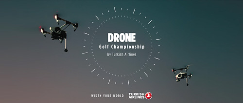 "Turkish Airlines ""Drone Golf"" Viral"
