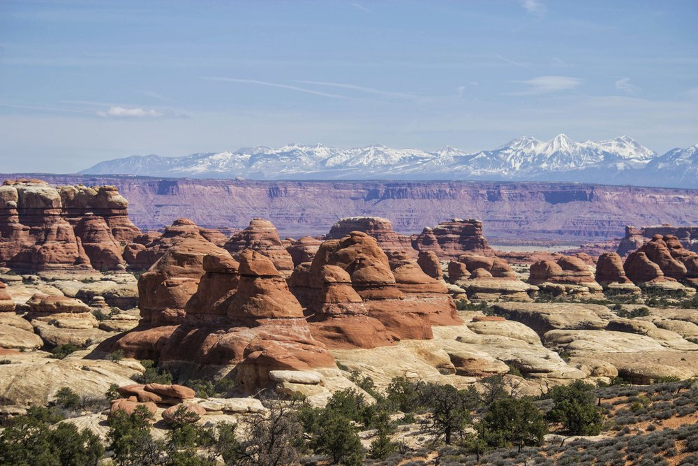 Views in Chesler Park in Needles District