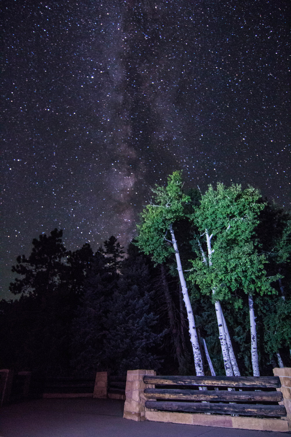 Did you know?  Bryce Canyon National Park has a 7.4 limiting magnitude night sky? In most rural areas of the United States, 2500 stars can be seen on a clear night. At Bryce Canyon, 7500 stars can be seen twinkling.