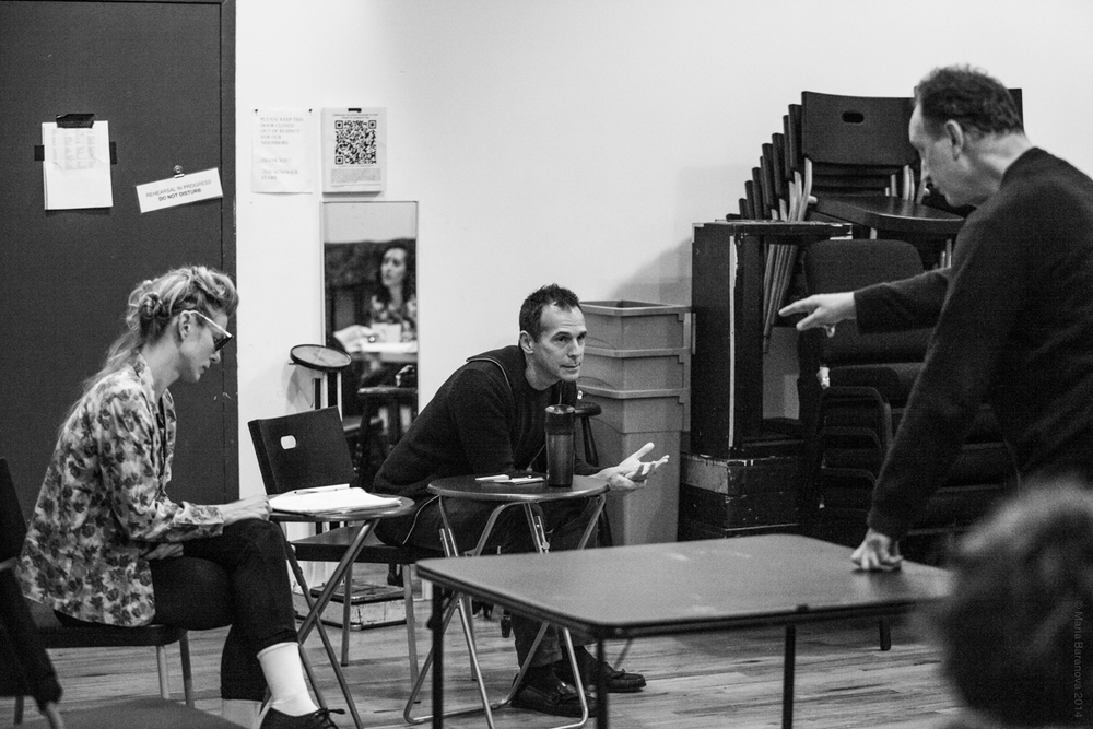 Rehearsal photos from Social Security (photo by Maria Baranova)