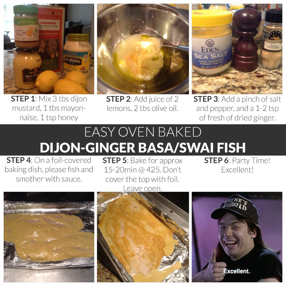 how to cook basa in oven