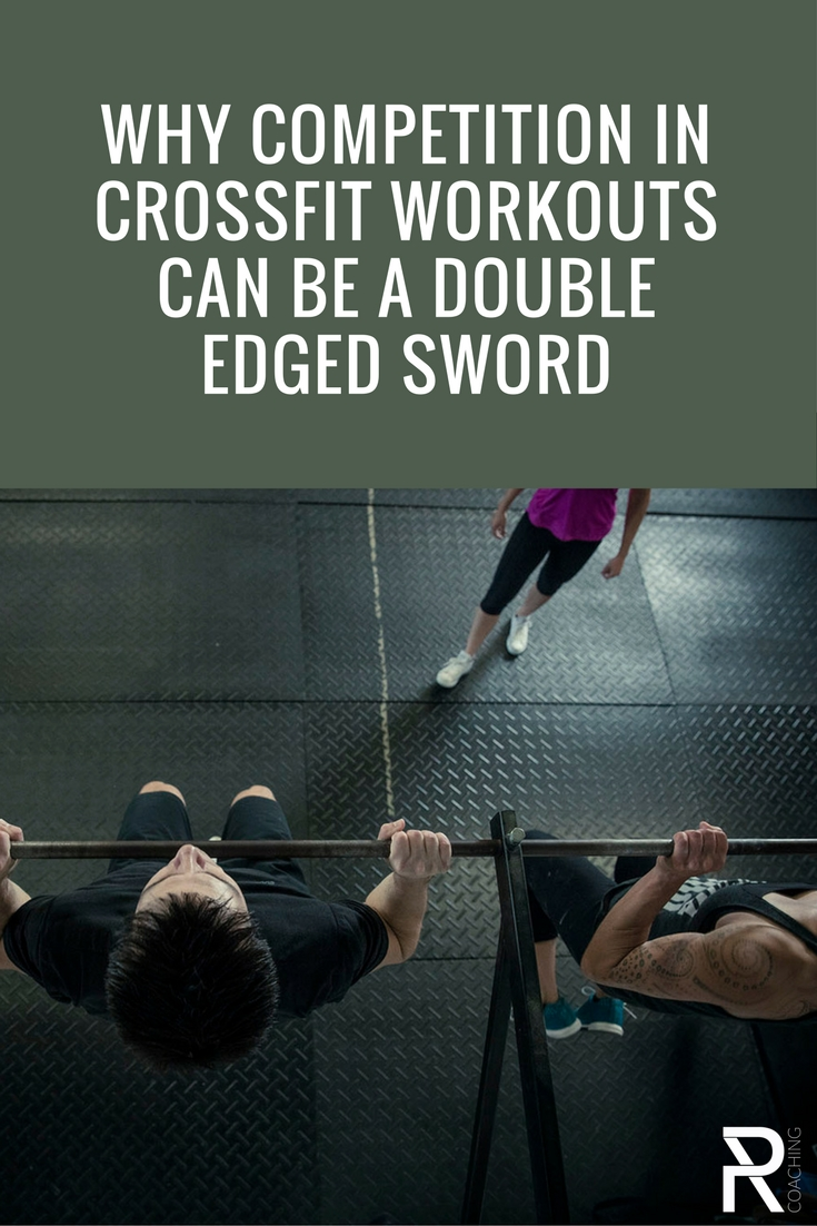 Why competition in the gym is a double edge sword