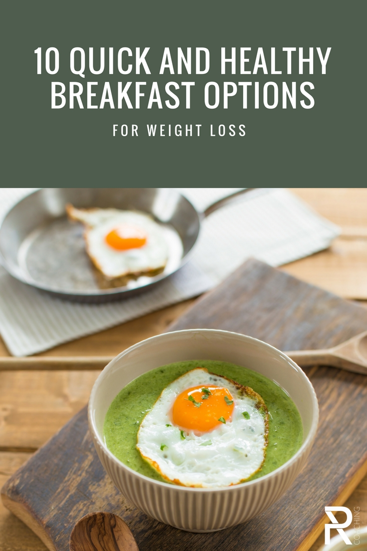10 Quick and healthy breakfast options p