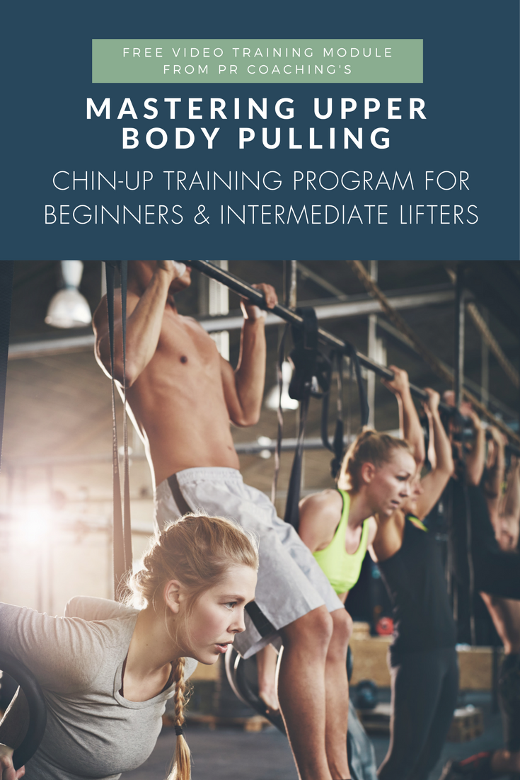 Chin-up training program   how to do chin-ups   chin-ups for beginners   chin-up workouts   chin-ups women   chin-ups for women   chin-up progressions for lifters