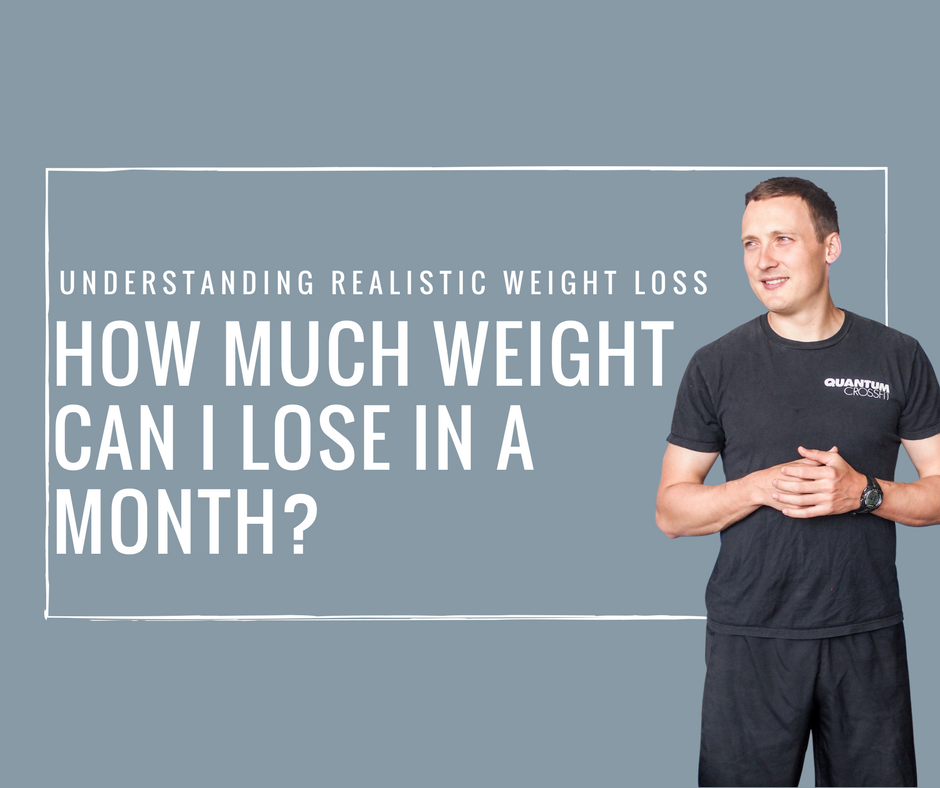 How much weight can I lose in a month? Realistic weight loss tips