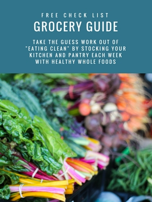 Healthy Grocery List Template | Printable grocery list | grocery list meal planning | How to plan your weekly healthy shop
