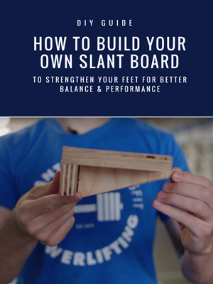 DIY Instructions for building a slant board | If you have trouble balancing when you run, attempt single leg activities like lunges, or when you squat, it could be that weak feet are holding you back. Use a slant board to correct foot weakness.