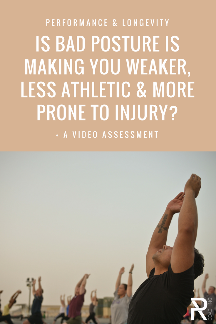 Your body position has a huge impact on how effectively you can engage certain muscle groups. Is bad posture making you weaker, less athletic, and more prone to injury? PR Coaching