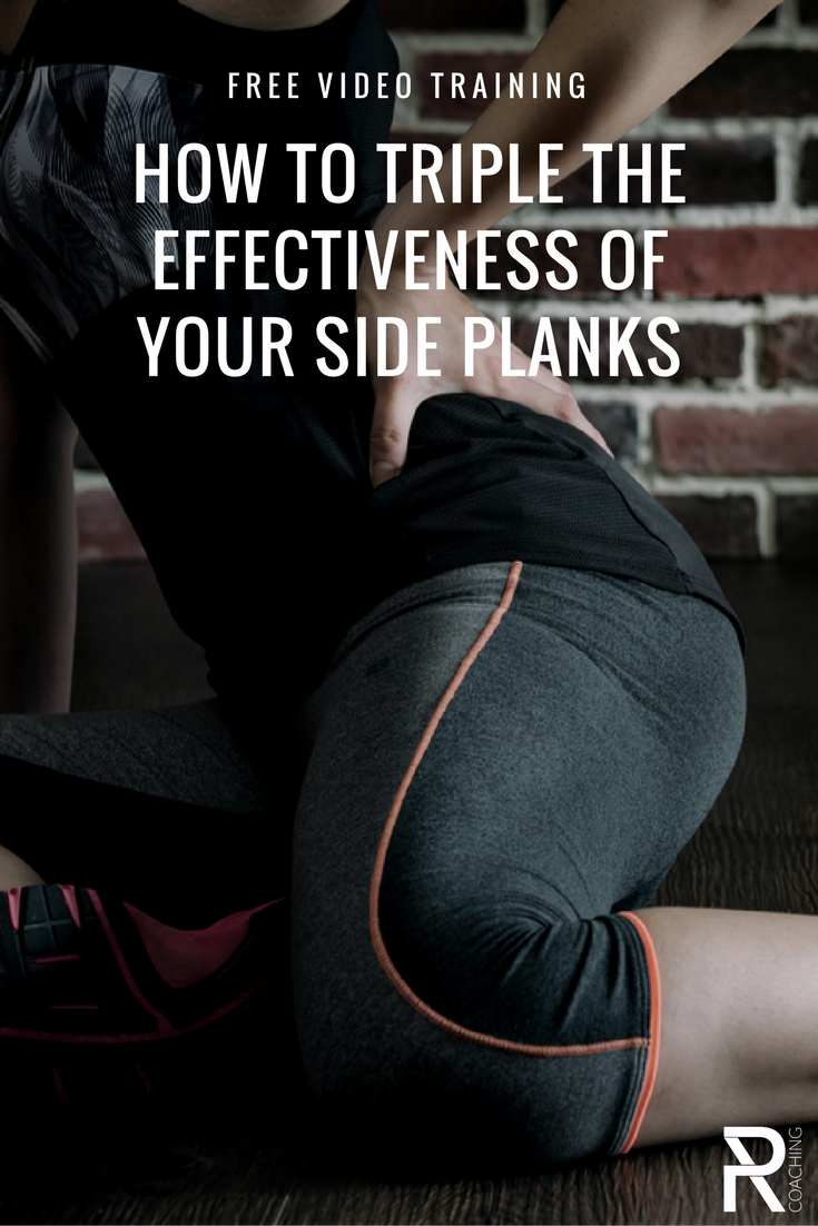 How To Triple The Effectiveness Of Your Side Planks | Core strengthening | How to do a side plank | core exercises | core workout | PR Coaching