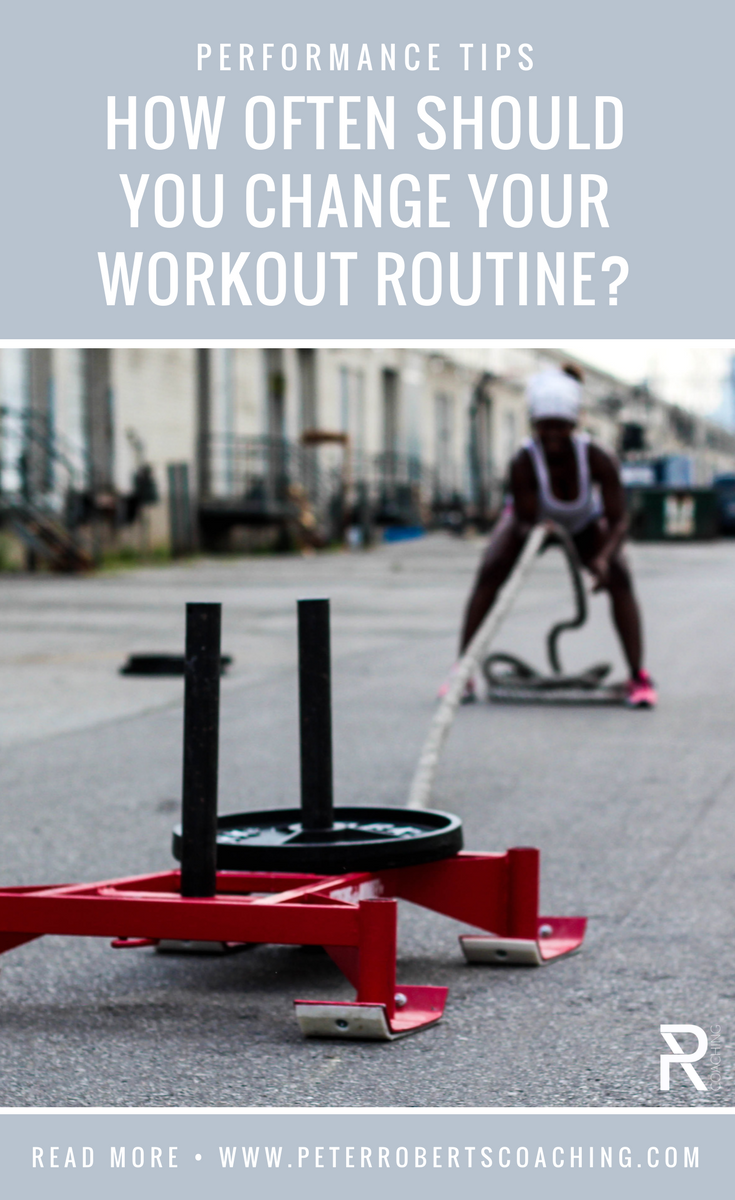 How often should you switch up your workout routine | the muscle confusion myth | Workout variations | Workout goals | PR Coaching