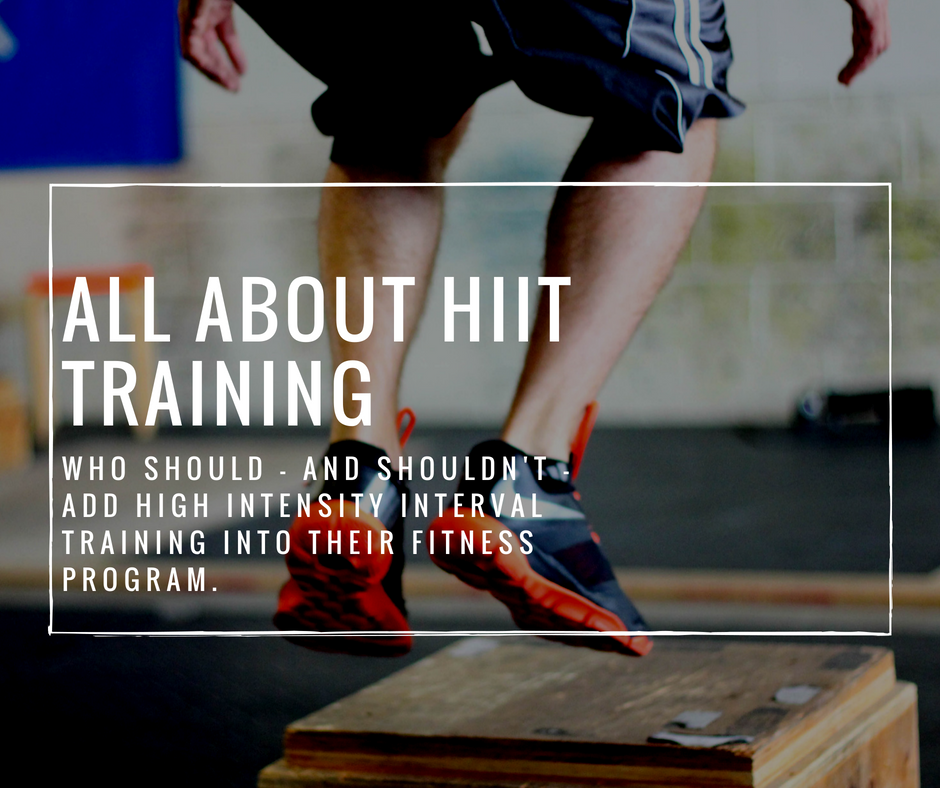 """You may have heard of HIIT (high intensity interval training), or variations of it like Tabata intervals or the """"One Minute Workout"""" and asked yourself, should I be adding HIIT workouts into my fitness routine?  Why should I do HIIT?"""