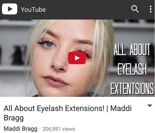 All About Eyelash Extensions Maddi Bragg Treat Yourself Studios