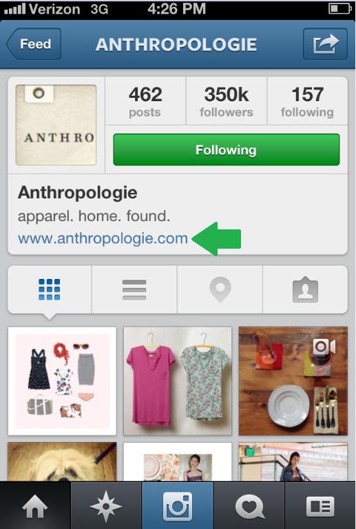 Instagram-Anthropologie