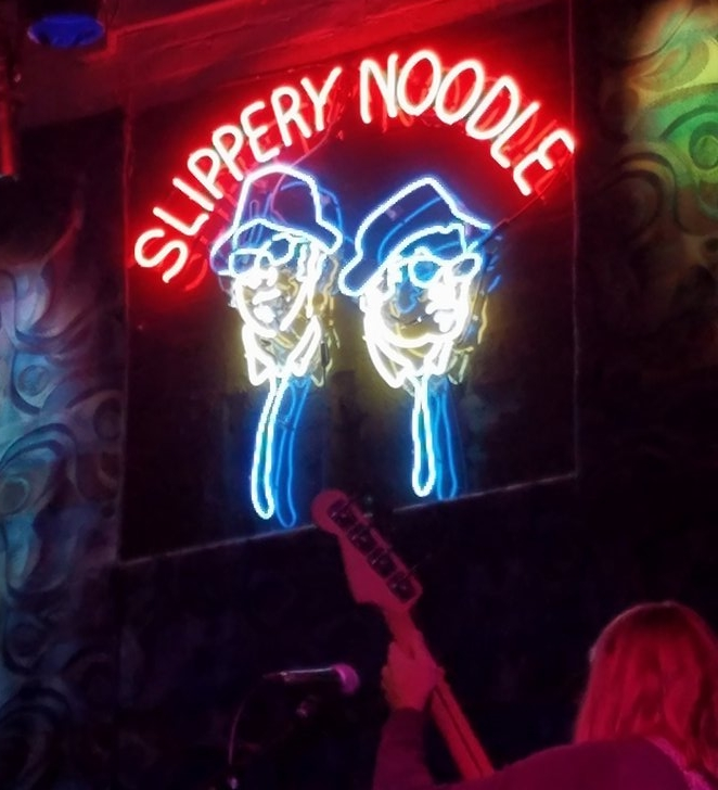 The Slippery Noodle