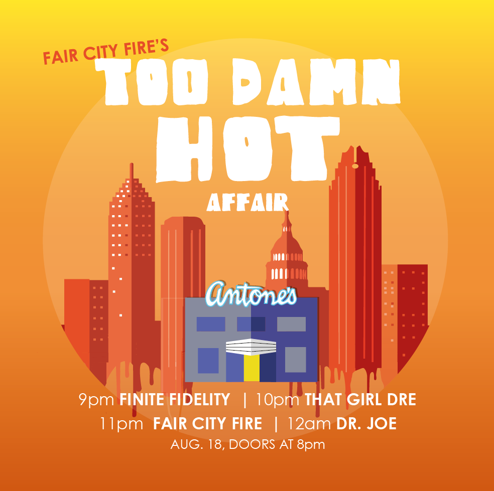 This year's Too Damn Hot Affair!